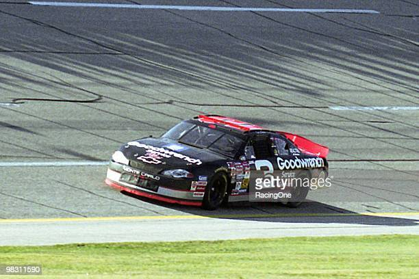 Dale Earnhardt scored his 10th career victory at Talladega Superspeedway capturing the Winston 500