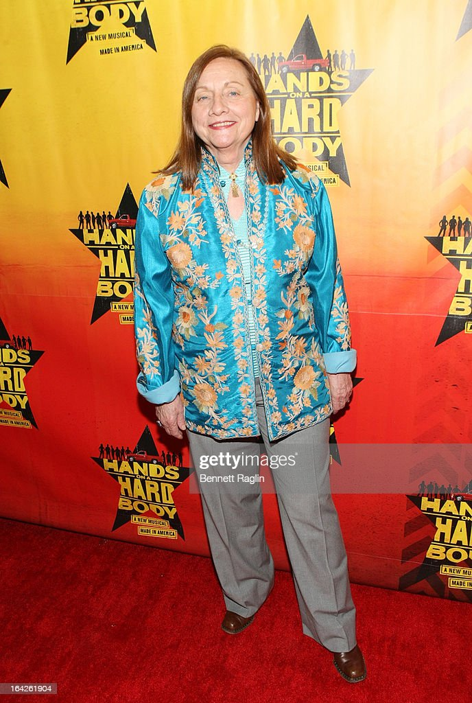 Dale Soules attends 'Hands On A Hard Body' Broadway opening night after party at Roseland Ballroom on March 21, 2013 in New York City.