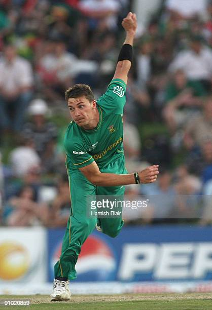 Dale Steyn of South Africa in action during the ICC Champions Trophy Group B match between South Africa and Sri Lanka played at Super Sport Park on...