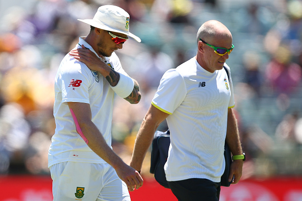1st Test - Australia v South Africa: Day 2 : News Photo