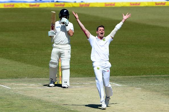 2nd Sunfoil International Test: South Africa v New Zealand, Day 4 : News Photo