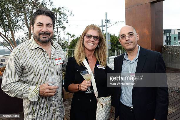 Dale Weinstein Natalie Weinstein and Danny Holzman attend the book launch for 'From CStudent to the CSuite Leveraging Emotional Intelligence' at...