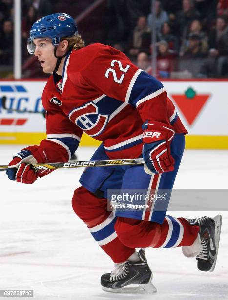 Dale Weise of the Montreal Canadiens plays in the game against the Los Angeles Kings at the Bell Centre on December 12 2014 in Montreal Quebec Canada