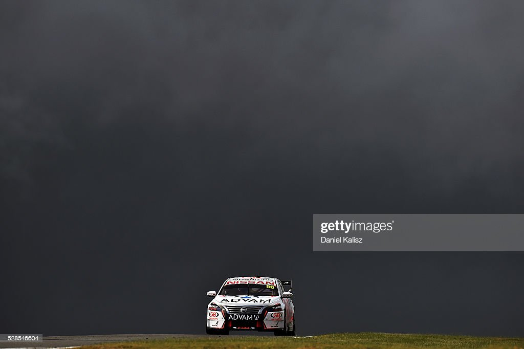 Dale Wood drives the #96 Nissan Motorsport Nissan Altima during practice for the V8 Supercars Perth SuperSprint at Barbagallo Raceway on May 6, 2016 in Perth, Australia.