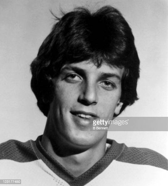 Dale Yakiwchuk of the Winnipeg Jets poses for a portrait in September 1978 in Winnipeg Manitoba Canada