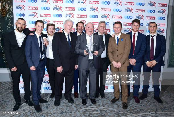 Dale Youth Boxing wins the Team Of The Year Award at the Pride of Sport awards at the Grosvenor House hotel London