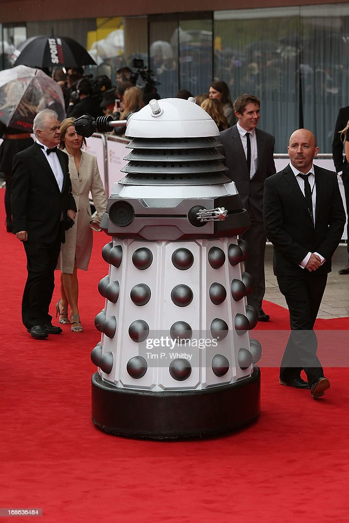 A Dalek attends the Arqiva British Academy Television Awards 2013 at the Royal Festival Hall on May 12, 2013 in London, England.