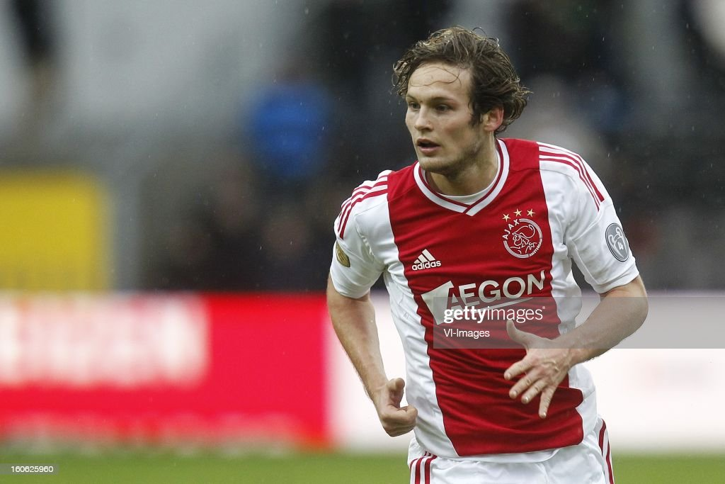 Daley Blind of Ajax during the Dutch Eredivisie match between VVV-Venlo and Ajax Amsterdam at stadium De Koel on february 3, 2013 in Venlo, The Netherlands