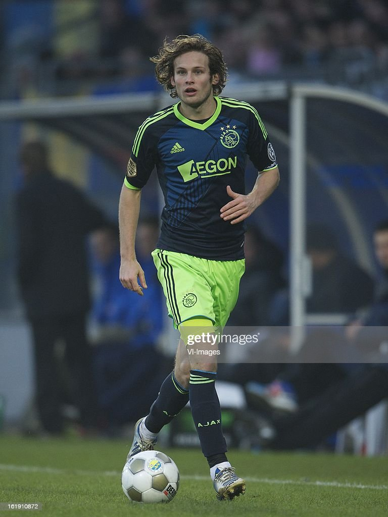 Daley Blind of Ajax during the Dutch Eredivisie match between RKC Waalwijk and Ajax Amsterdam at the Mandemakers Stadium on february 17, 2013 in Waalwijk, The Netherlands