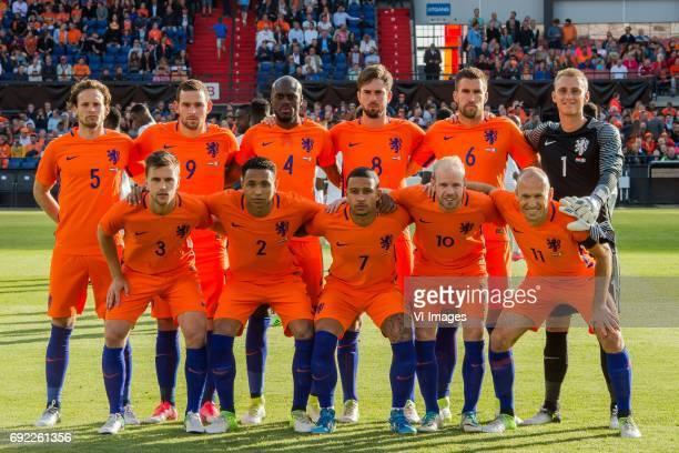 Daley Blind of The Netherlands Vincent Janssen of The Netherlands Bruno Martens Indi of The Netherlands Davy Propper of The Netherlands Kevin...