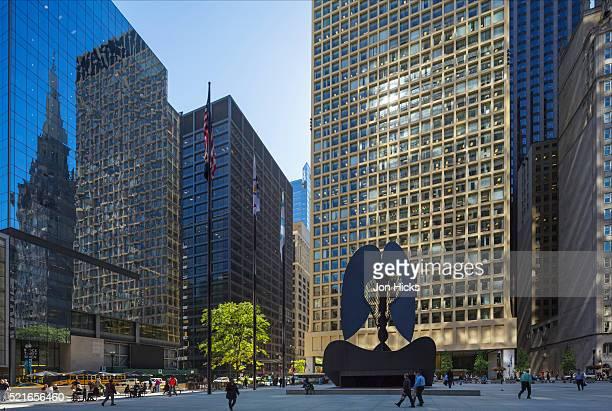 Daley Plaza, Chicago, Illinois.