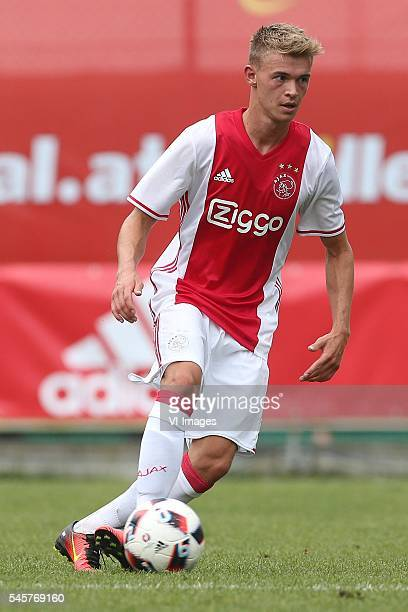 Daley Sinkgraven of Ajax during the preseason friendly match between FC Liefering and Ajax Amsterdam on July 9 2016 at the Lindenstadion Lippach in...