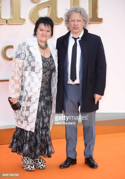 Dalia Ibelhauptaite and Dexter Fletcher attends the 'Kingsman The Golden Circle' World Premiere held at Odeon Leicester Square on September 18 2017...