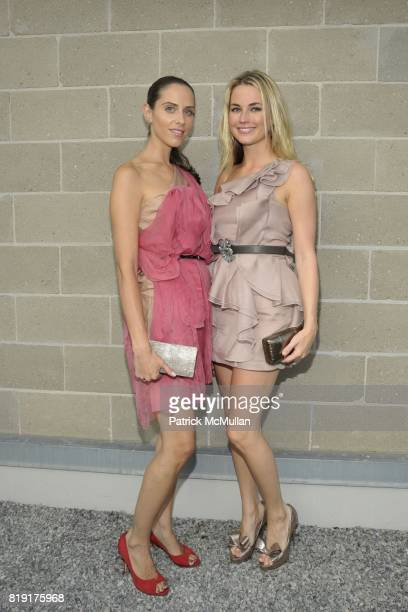Dalia Oberlander and Amanda Hearst attend Paradiso The 17th Annual Watermill Summer Benefit 2010 at Watermill Center on July 24 2010