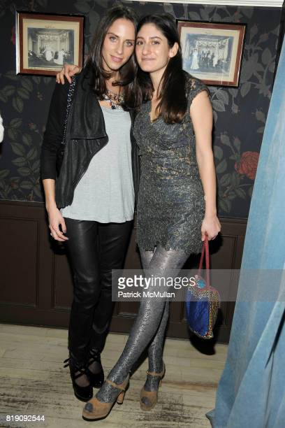 Dalia Oberlander and Arden Wohl attend PORCELAIN Launches in New York with hosts TRUDIE STYLER AMY SACCO ARDEN WOHL and GENEVIEVE JONES at Hotel...