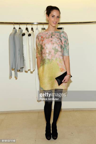 Dalia Oberlander attends Akris Hosts New Yorkers For Children Spring Dinner Dance KickOff at Akris Boutique on March 16 2010 in New York City