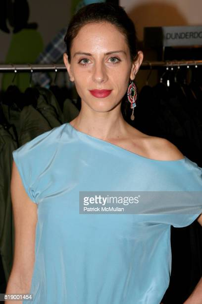 Dalia Oberlander attends 'Denim before Dark' a celebration of the launch of HUDSON COLLECTION at Barney's on May 1 2010 in New York