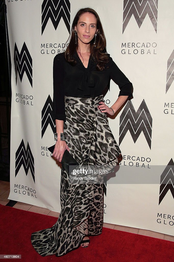 Dalia Oberlander attends the 2015 Mercado Global Fashion Forward Gala at The Bowery Hotel on October 14, 2015 in New York City.