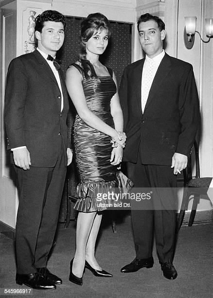 Daliah Lavi *Schauspielerin Sängerin Israel/USAvl Abraham Eisenberg DL Raphael Nussbaum um 1960