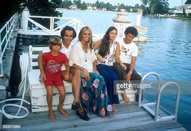 Daliah LaviGans ExEhemann Peter Rittmaster Sohn Rouven Schwester Mechal Vizansky Schwager Josef Vizansky Homestory Miami/Florida/USA Nordamerika...