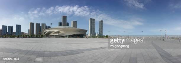 Dalian Donggang business district panoramic