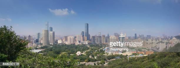 Dalian Urban Skyline Panoramic