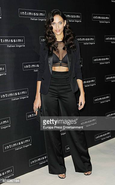 Dalianah Arekion attends 'Intimissimi' 20 Years Anniversary photocall on November 17 2016 in Madrid Spain