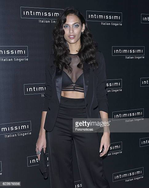 Dalianah Arekion attends 'Intimissimi' 20th anniversary party at the Italian Embassy on November 17 2016 in Madrid Spain