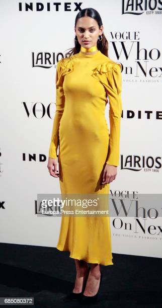 Dalianah Arekion attends VI Vogue Who's On Next party at El Principito on May 18 2017 in Madrid Spain