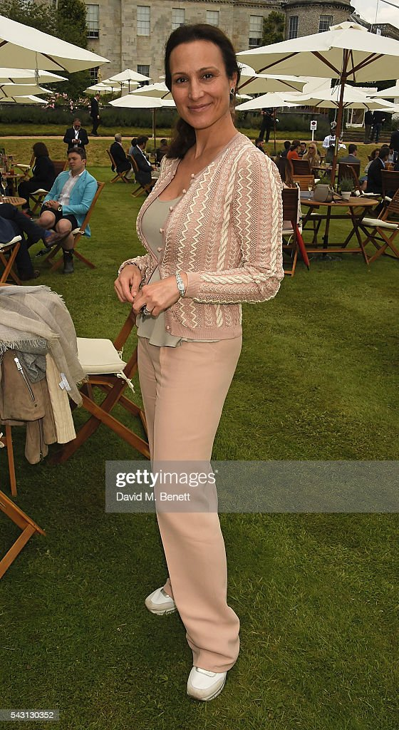Dalit Nuttall attends The Cartier Style et Luxe at the Goodwood Festival of Speed at Goodwood on June 26, 2016 in Chichester, England.