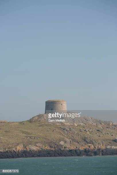 Dalkey Island on 08th April 2017 in County Dublin Republic of Ireland Dalkey is one of the most affluent suburbs of Dublin and a seaside resort just...