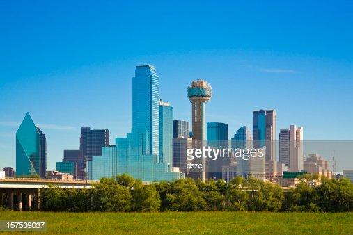 Dallas city skyline, Texas