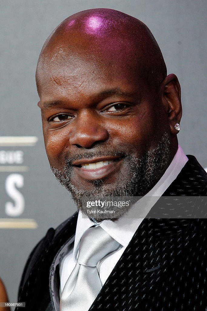 Dallas Cowboys former running back <a gi-track='captionPersonalityLinkClicked' href=/galleries/search?phrase=Emmitt+Smith&family=editorial&specificpeople=201615 ng-click='$event.stopPropagation()'>Emmitt Smith</a> attends the 2nd Annual NFL Honors at the Mahalia Jackson Theater on February 2, 2013 in New Orleans, Louisiana.