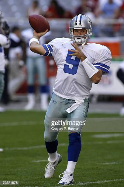 Dallas Cowboys quarterback Tony Romo lead the team to a victory The Cowboys defeated the Arizona Cardinals 27 to 10 at Cardinal Stadium in Phoenix AZ...