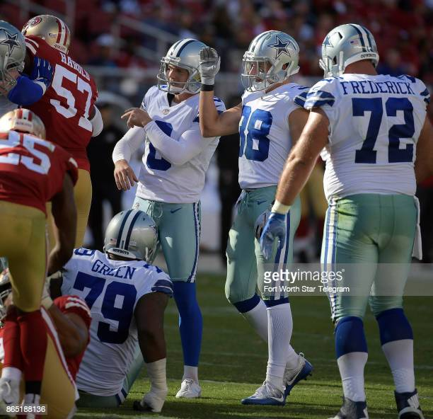Dallas Cowboys strong safety Jeff Heath was good on the point after touchdown kick during the fourth quarter as the Cowboys beat the San Francisco...