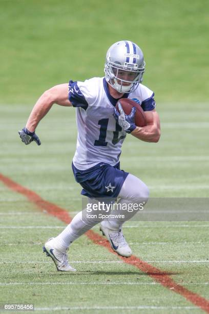 Dallas Cowboys Wide Receiver Ryan Switzer runs drills during the Dallas Cowboys Minicamp on June 13 at The Star in Frisco Texas
