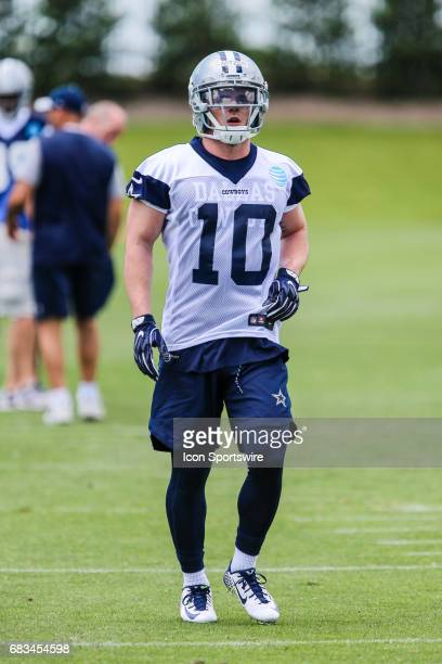 Dallas Cowboys wide receiver Ryan Switzer runs through drills during practice during the Dallas Cowboys Rookie Camp on May 13 2017 at The Star in...