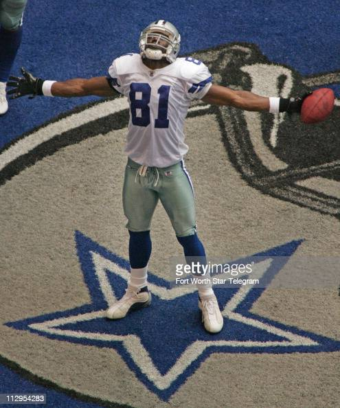 ... NFL Dallas Cowboys wide receiver Terrell Owens stands on a star  Pictures Getty Images ... dee978aba