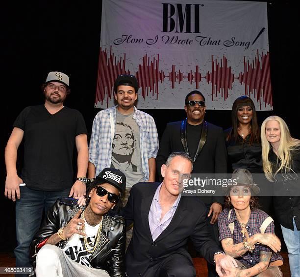 Dallas Davidson Wiz Khalifa Alex Da Kid BMI Chief Operating Officer Michael O'Neill Charlie Wilson Linda Perry BMI Vice President WriterPublisher...