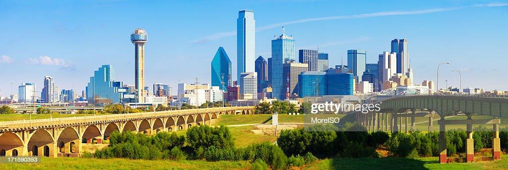 Dallas Downtown Skyline Panoramic
