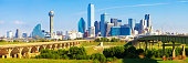 Dallas Downtown Skyline Panoramic