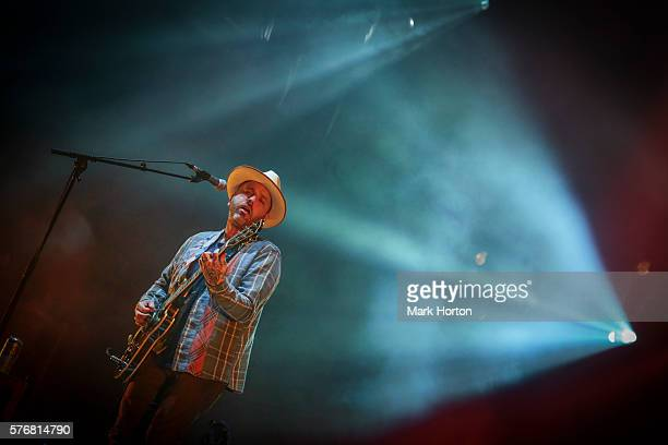 Dallas Green of City and Colour performs on Day 9 of the RBC Bluesfest on July 17 2016 in Ottawa Canada