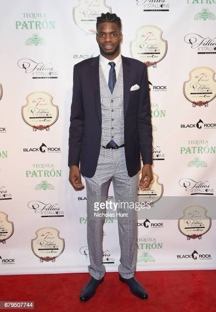Dallas Mavericks player Nerlens Noel attends the 7th Annual Fillies Stallions Kentucky Derby Party hosted by Black Rock Thoroughbreds and sponsored...