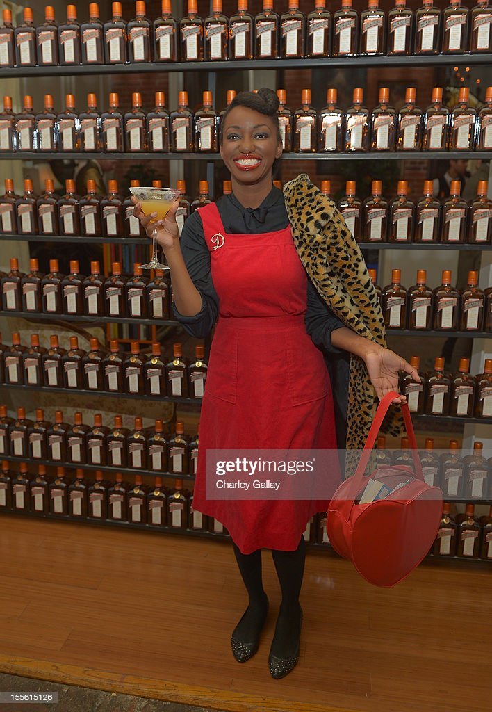 Dallas Monroe Harrison attends La Maison Cointreau Makes Its Los Angeles Debut at La Maison Cointreau on November 5, 2012 in Los Angeles, California.