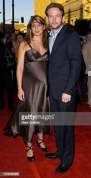 Dallas Roberts and wife during Outfest 2004 Festival Closing Night and Los Angeles Premiere of 'A Home at the End of the World' Red Carpet Arrivals...