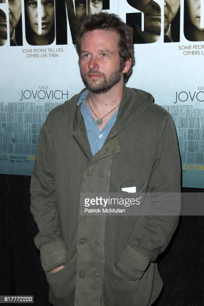 Dallas Roberts attend OVERTURE FILMS' Premiere of STONE at MoMA on October 5th 2010 in New York City