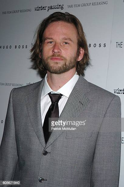Dallas Roberts attends THE CINEMA SOCIETY  HUGO BOSS present the premiere of 'WINTER PASSING' at Tribeca Grand on February 15 2006 in New York City