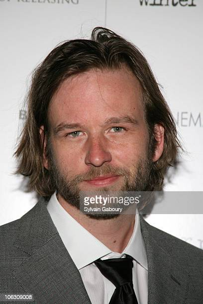 Dallas Roberts during Cinema Society Hugo Boss present the premiere of 'Winter Passing' at the Tribeca Grand Hotel on 2 Avenue of the Americas NYC at...