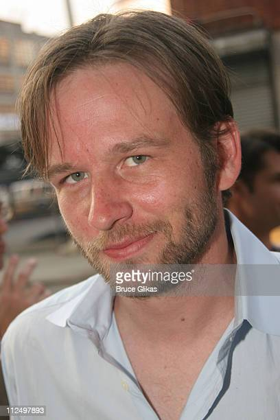 Dallas Roberts during Opening Night Celebration of 'Hurlyburly' ReOpening OffBroadway at 37 Arts and Aer Nightclub in New York NY United States