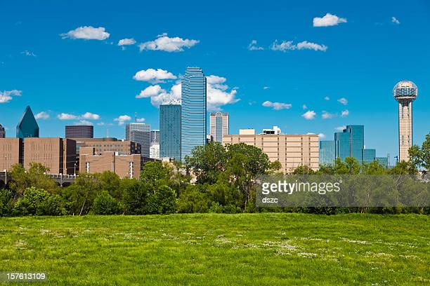 Dallas Skyline and park